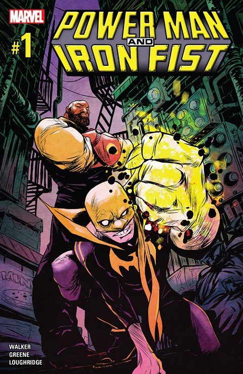 Power Man and Iron Fist Vol. 3 #1 – 15 + TPBs (2016-2017)