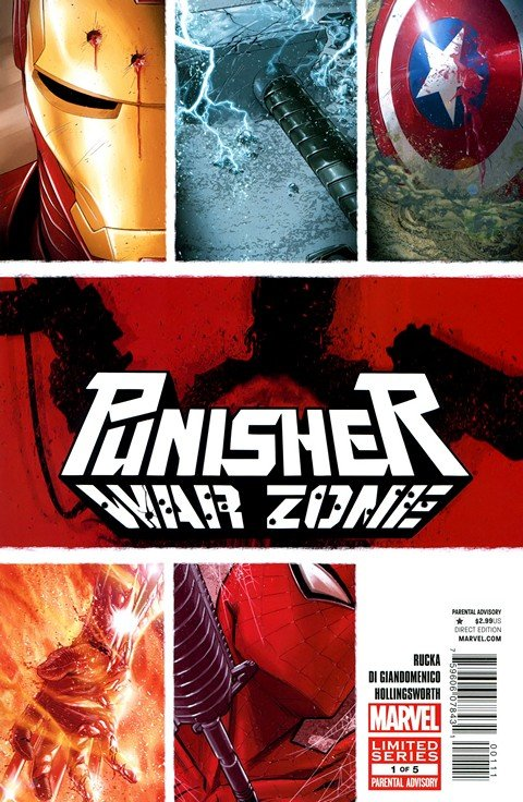 Punisher – War Zone Vol. 3 #1 – 5