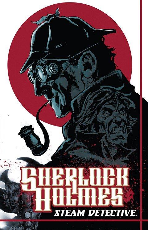 Sherlock Holmes – Steam Detective (TPB)