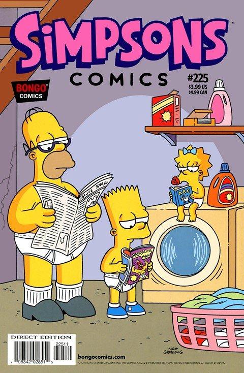 Simpsons Comics #225