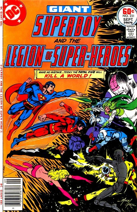 Superboy and the Legion of Super-Heroes #231 – 258