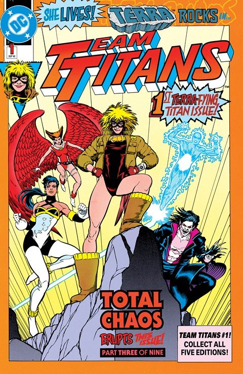 Team Titans #1 – 24 + Annuals #1 – 2