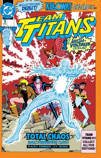 Team Titans #1 – 24 + Annuals (1993-1994)