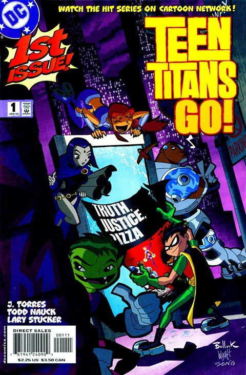 Teen Titans Go Vol. 1 #1 – 55