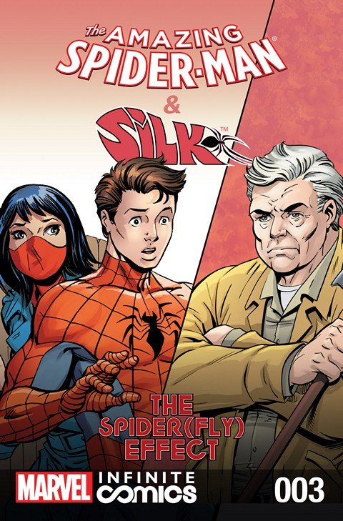The Amazing Spider-Man & Silk – Spider(Fly) Effect Infinite Comic #3