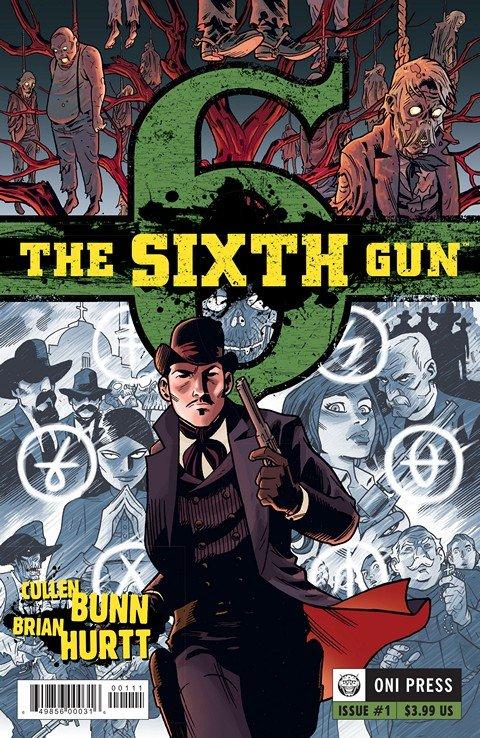 The Sixth Gun #1 – 50 + TPB + Extras