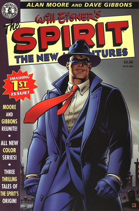 The Spirit – The New Adventures #1 – 8