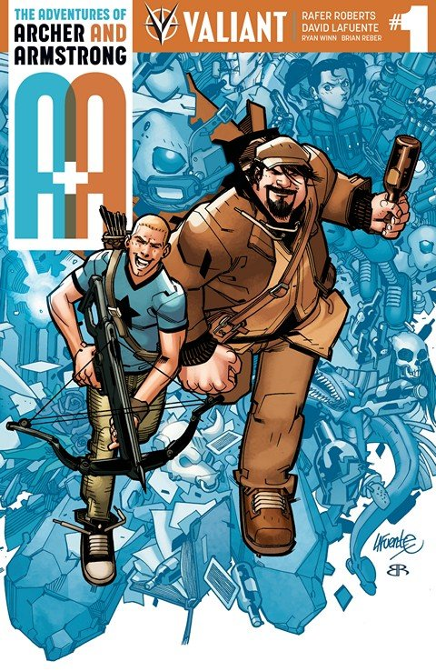 A&A – The Adventures of Archer & Armstrong #1