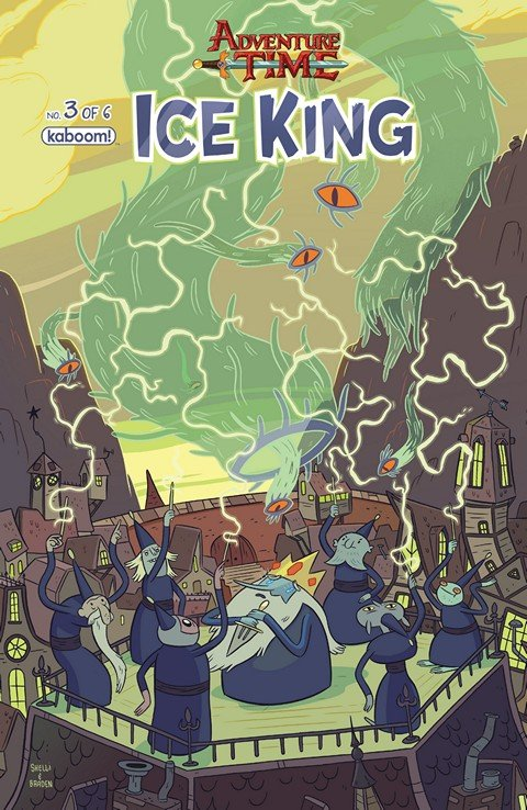 Adventure Time – Ice King #1 – 3