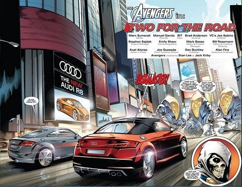 Avengers in – Two For the Road