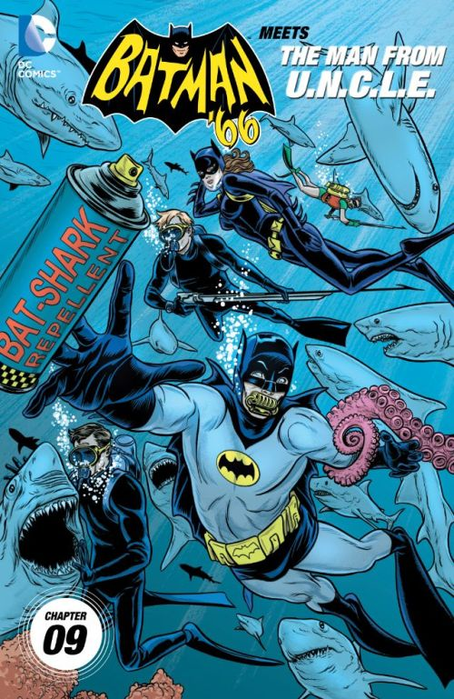 Batman '66 Meets the Man From U.N.C.L.E. #9