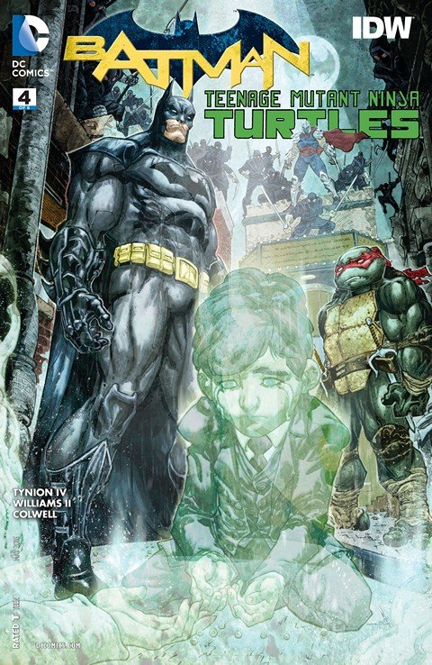 Batman – Teenage Mutant Ninja Turtles #4