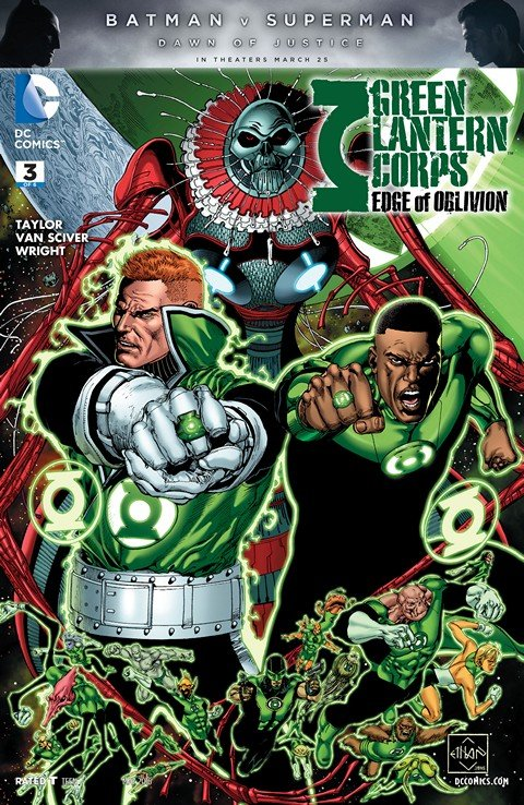 Green Lantern Corps – Edge of Oblivion #3