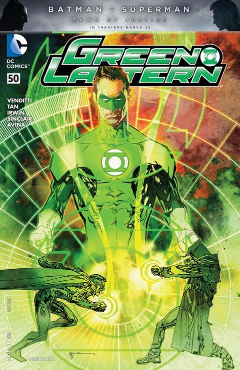 Green Lantern Vol. 5 #0 – 50 + Annuals + TPB