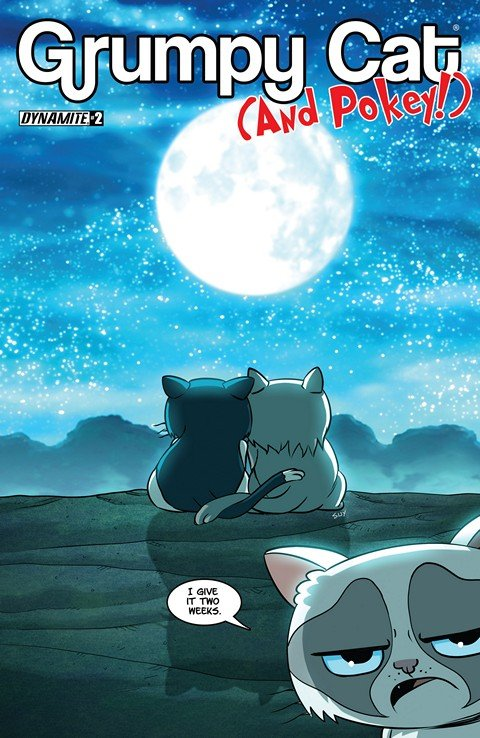 Grumpy Cat & Pokey #2