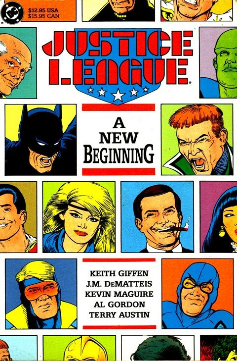 Justice League – A New Beginning
