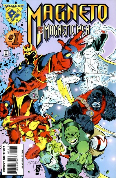 Magneto And His Magnetic Men #1 (1996)
