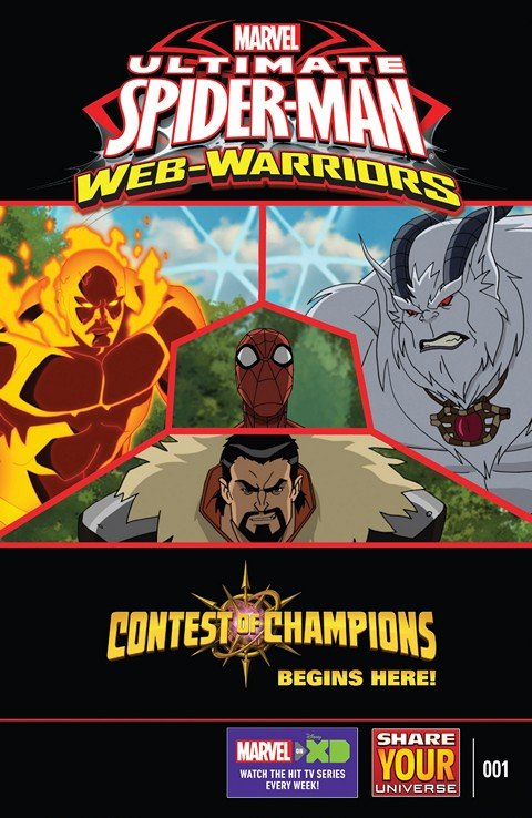 Marvel Universe Ultimate Spider-Man – Web-Warriors – Contest of Champions #1