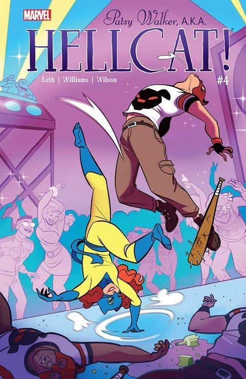 Patsy Walker, A.K.A. Hellcat! #4