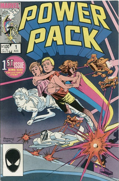 Power Pack Vol. 1 – 3 + Extras (Collection)