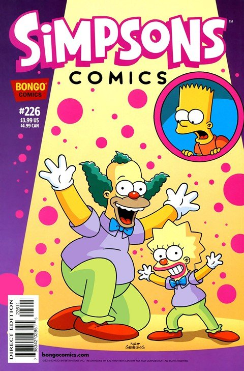 Simpsons Comics #226