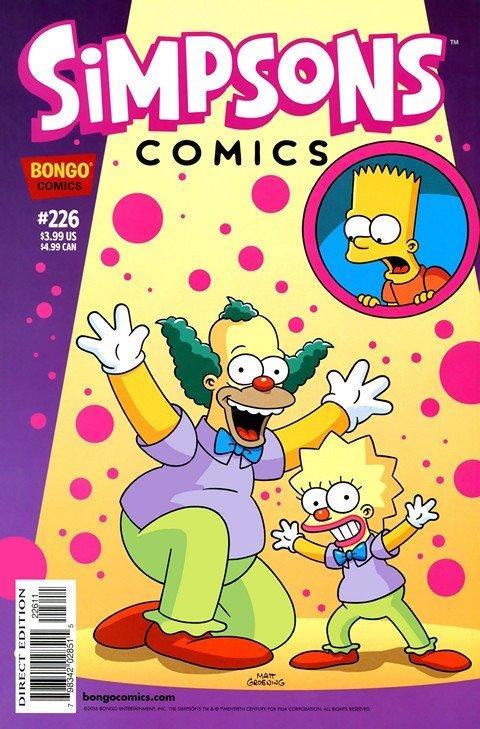 Simpsons Comics #226