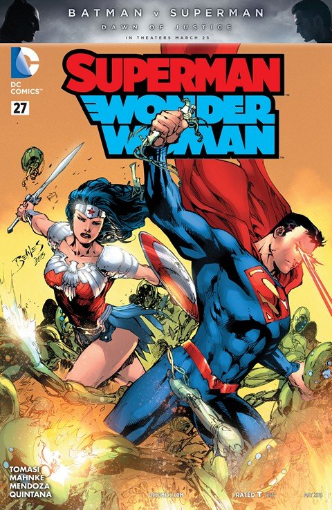 Superman-Wonder Woman #27