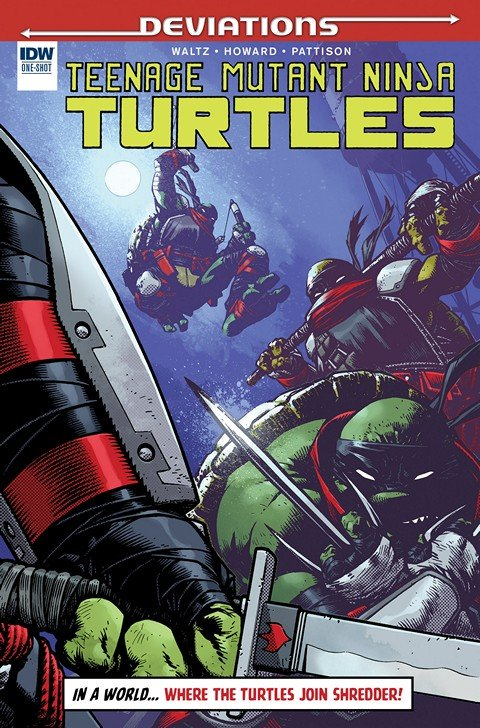 Teenage Mutant Ninja Turtles Deviations #1