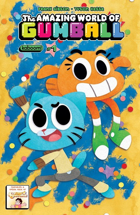 The Amazing World of Gumball #1 – 8 + TPB Vol. 1 + Special