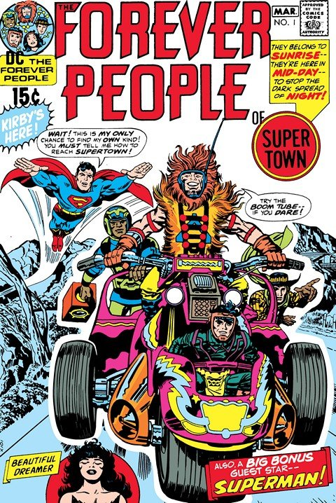 The Forever People #1 – 11