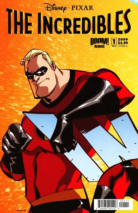 The Incredibles – Family Matters #1 – 4 (2009)