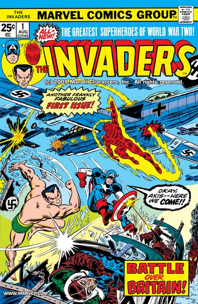 The Invaders Vol. 1 #1 – 41 + Annual (1975-1979)