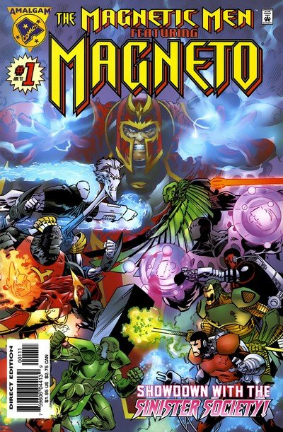 The Magnetic Men featuring Magneto #1 (1997)