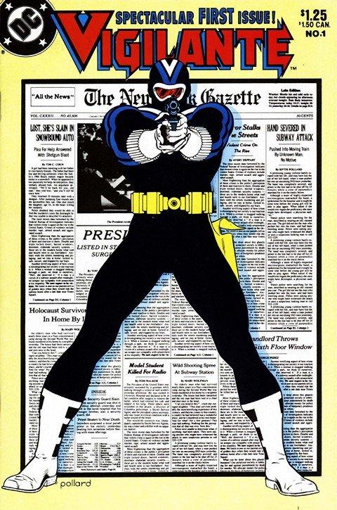 Vigilante Vol. 1 #1 – 50 + Annual #1 – 2