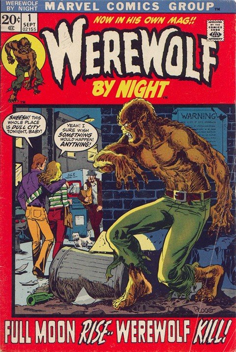 Werewolf by Night Vol. 1 – 2 + Giant-Size Werewolf (Collection)