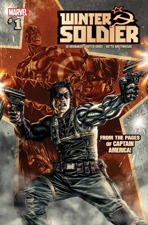 Winter Soldier #1 – 19 + TPB Vol. 1 – 4 (2012-2013)