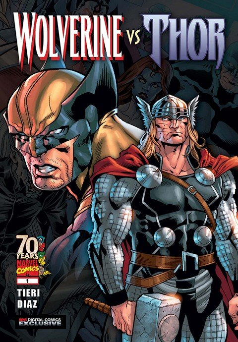 Wolverine vs Thor #1 – 3