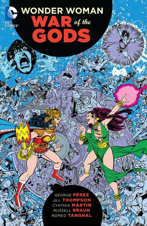 Wonder Woman – War of the Gods (TPB)
