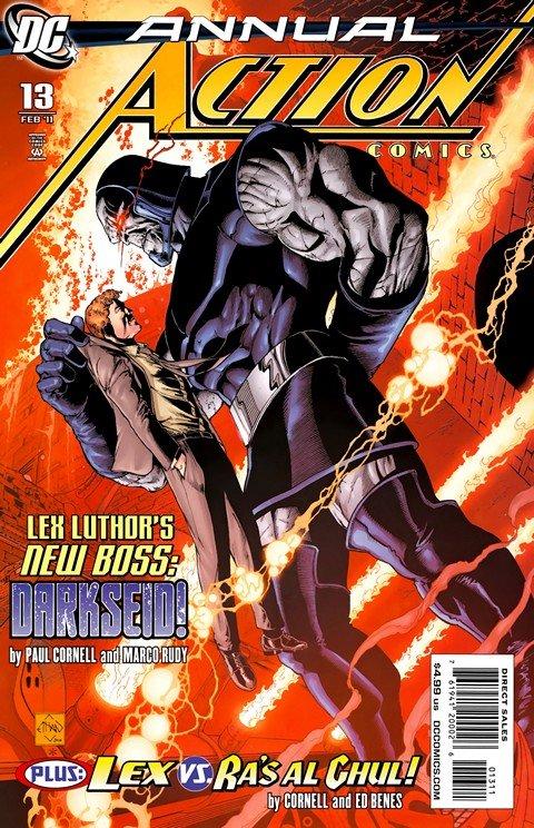 Action Comics Vol. 1 Annual #1 – 13