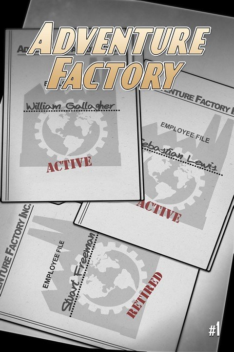 Adventure Factory (Prelude + #1 – 2) (Indie Comics)