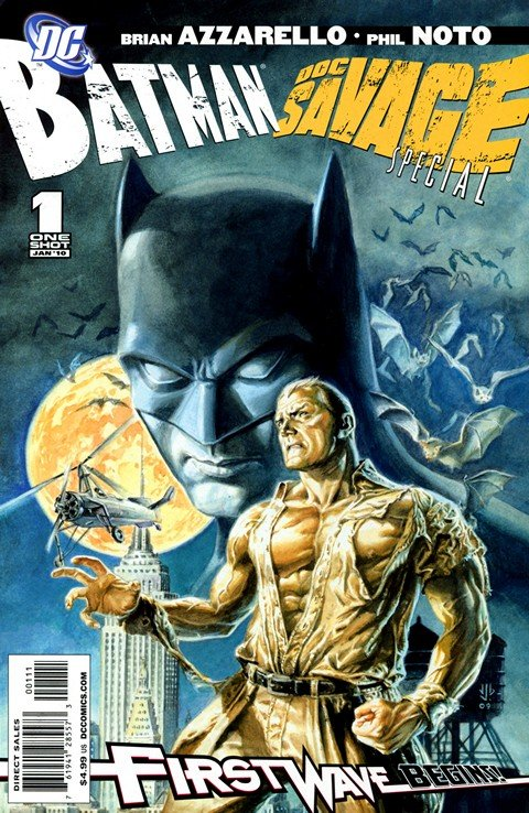 Batman & Doc Savage Special