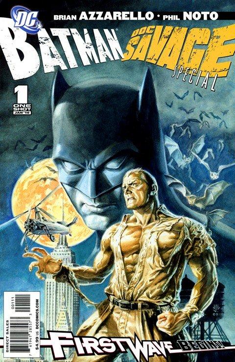 Batman & Doc Savage Special