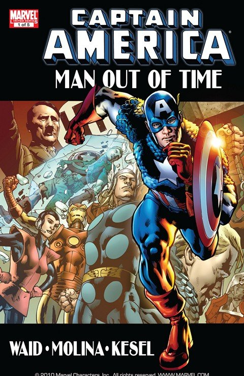Captain America – Man Out of Time #1 – 5
