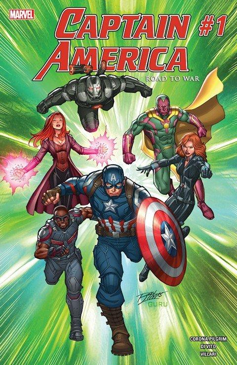 Captain America – Road to War #1