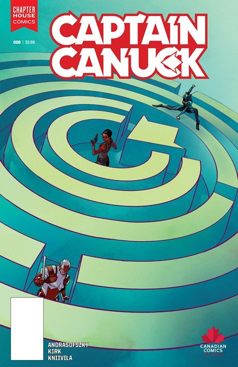 Captain Canuck #8 (2016)