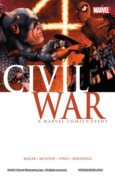 Civil War (Complete Story Arc) + TPB + Extras (2006-2008)