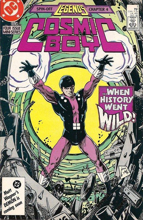 Cosmic Boy #1 – 4