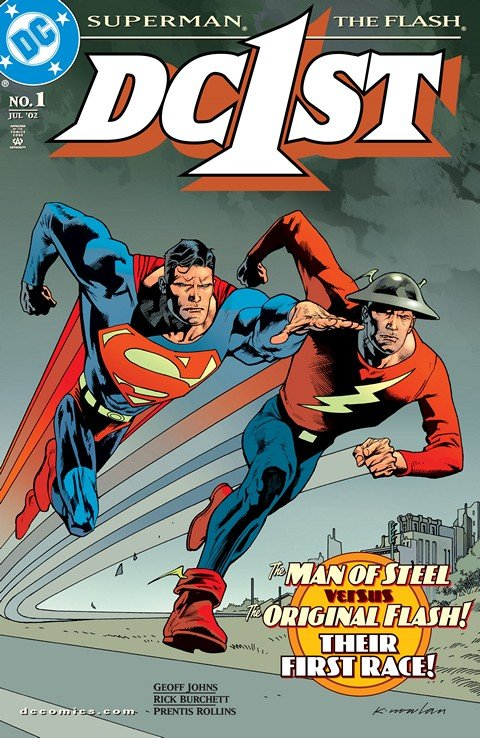 DC First – Flash-Superman #1
