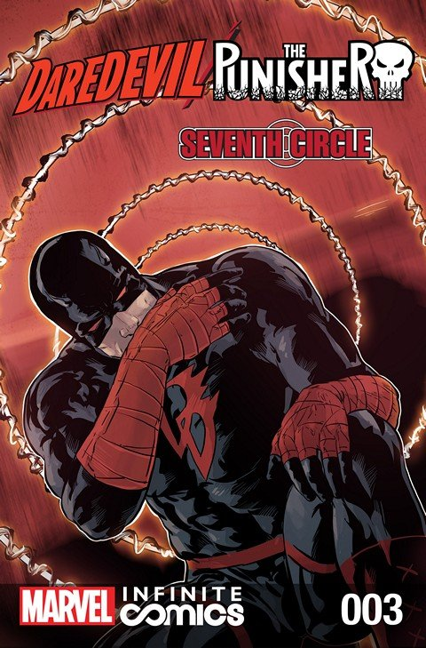 Daredevil – Punisher – Seventh Circle Infinite Comic #3
