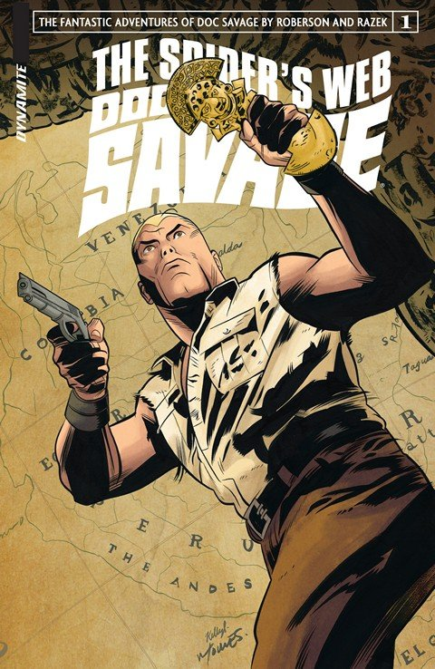 Doc Savage – The Spider's Web #1 – 5